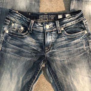 "Super cute MissMe boot Cut size 29""women's jeans"